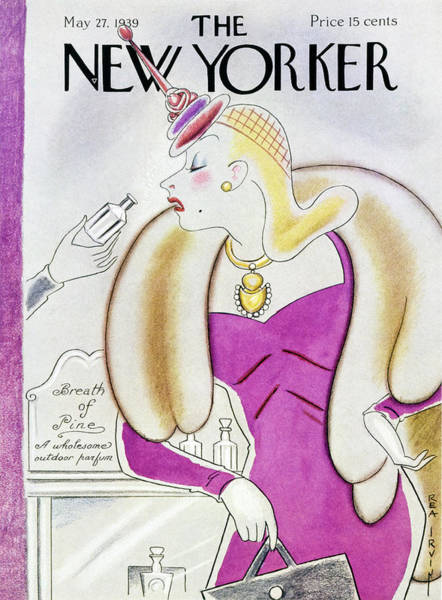 Headgear Painting - New Yorker May 27 1939 by Rea Irvin