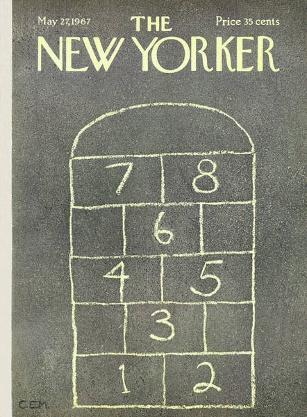 Plays Painting - New Yorker May 27th, 1967 by Charles E Martin