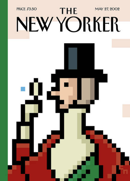 Painting - New Yorker May 27th, 2002 by Christoph Niemann