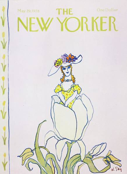 Headgear Painting - New Yorker May 29th 1978 by William Steig