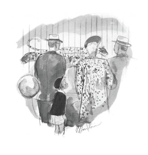 Fur Coat Drawing - New Yorker May 2nd, 1942 by Perry Barlow