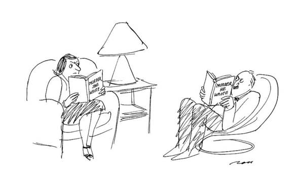 Wall Art - Drawing - New Yorker May 2nd, 1988 by Al Ross