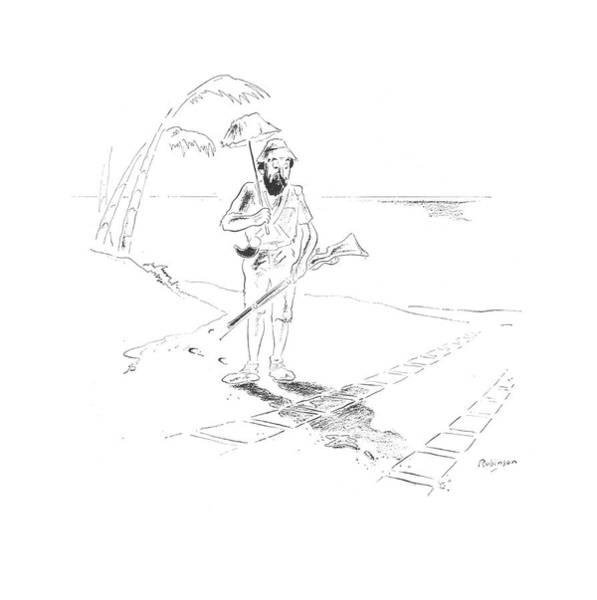 Print Drawing - New Yorker May 30th, 1942 by W. Heath Robinson