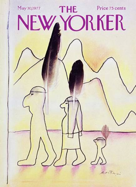 American Culture Painting - New Yorker May 30th 1977 by Andre Francois