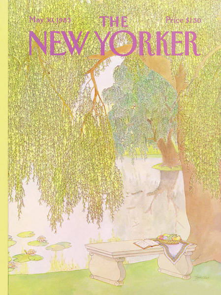 Book Painting - New Yorker May 30th, 1983 by Jenni Oliver