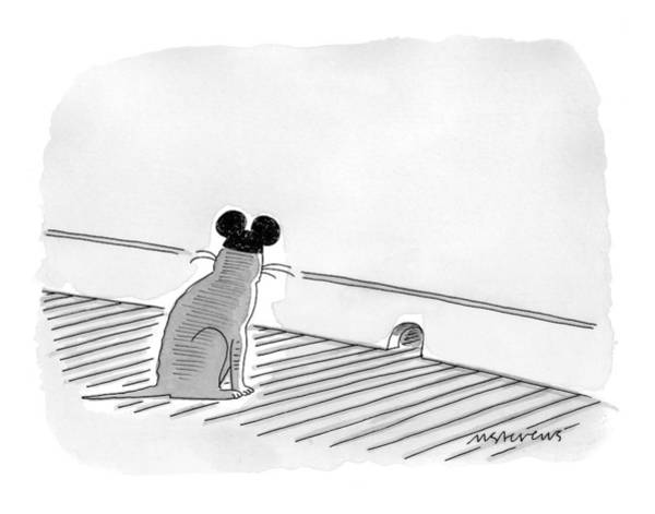 Animals Drawing - New Yorker May 31st, 1999 by Mick Stevens