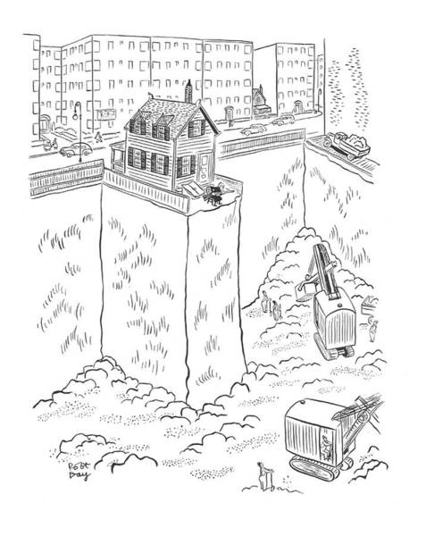 Demolition Wall Art - Drawing - New Yorker May 3rd, 1941 by Robert J. Day