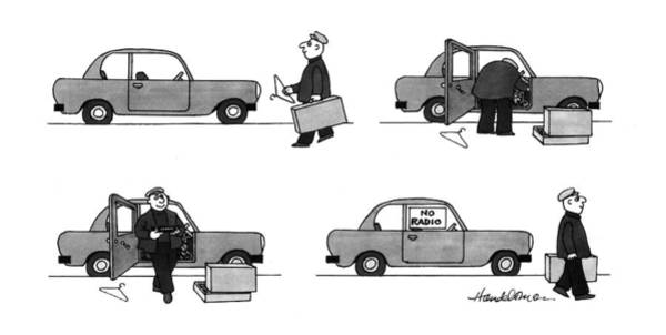 1993 Drawing - New Yorker May 3rd, 1993 by J.B. Handelsman