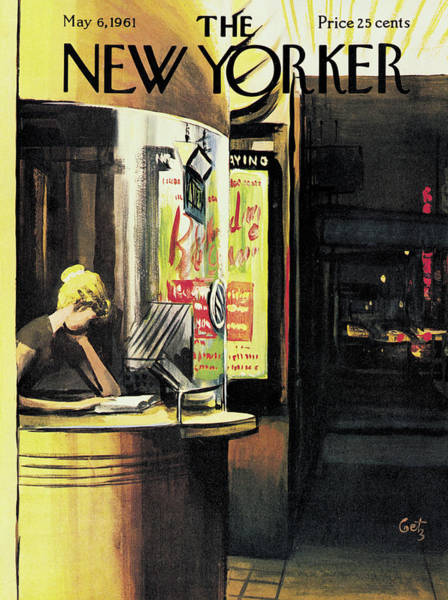 Entertainment Painting - New Yorker May 6th, 1961 by Arthur Getz