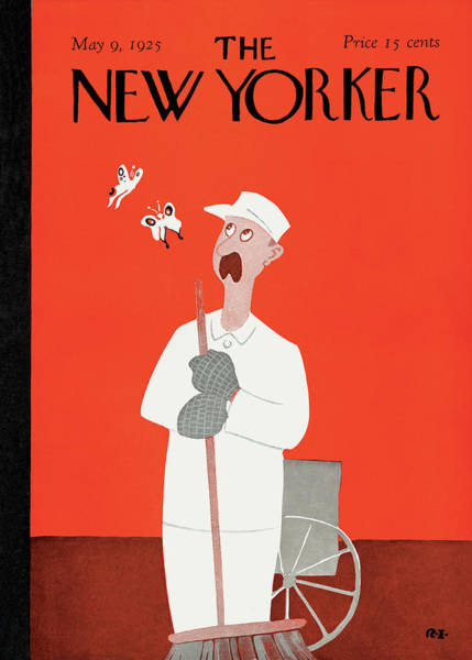 Stars Painting - New Yorker May 9th, 1925 by Rea Irvin