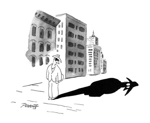 November 11th Drawing - New Yorker November 11th, 1996 by Peter Porges