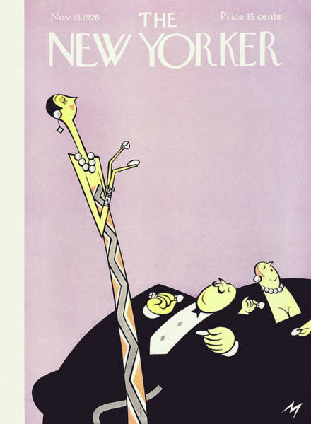 Magazine Cover Painting - New Yorker November 13 1926 by Julian De Miskey