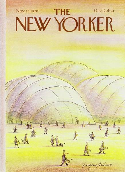 Sports Gear Painting - New Yorker November 13th 1978 by Eugene Mihaesco