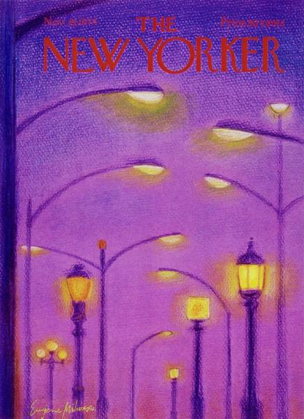 Painting - New Yorker November 18th 1974 by Eugene Mihaesco