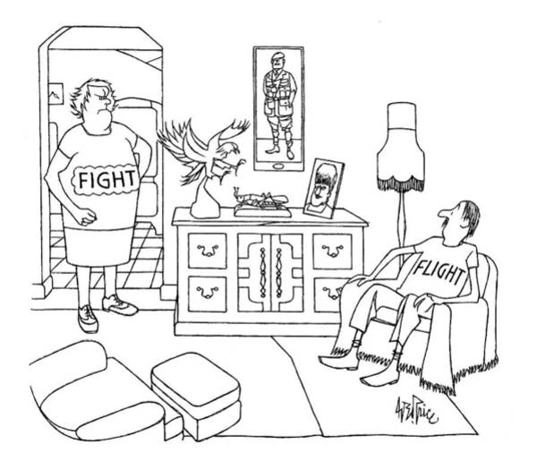 1984 Drawing - New Yorker November 19th, 1984 by George Price