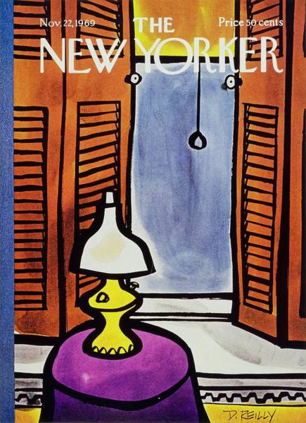 Donald Painting - New Yorker November 22nd 1969 by Donald Reilly