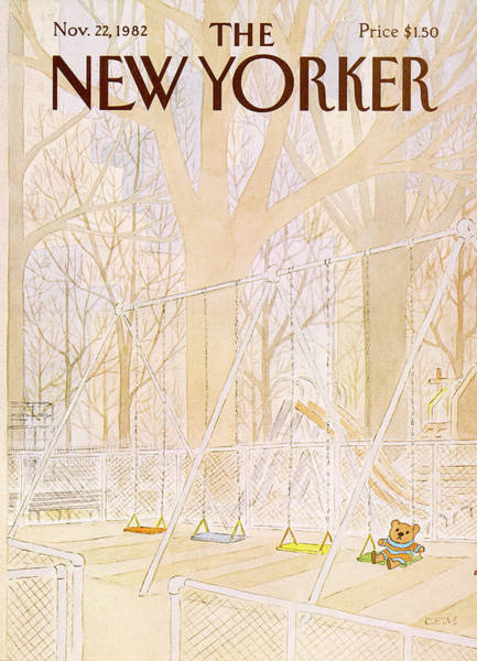 1982 Wall Art - Painting - New Yorker November 22nd, 1982 by Charles E Martin