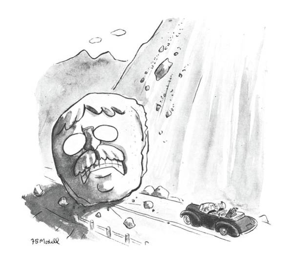 November 25th Drawing - New Yorker November 25th, 1950 by Frank Modell