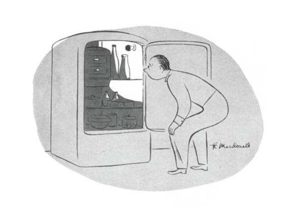 Wall Art - Drawing - New Yorker November 28th, 1942 by Roberta Macdonald
