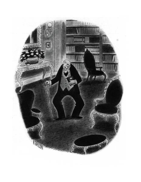 Senior Drawing - New Yorker November 29th, 1941 by Richard Taylor