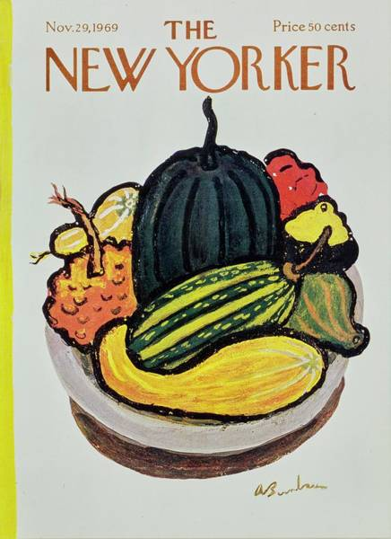 Wall Art - Painting - New Yorker November 29th 1969 by Aaron Birnbaum