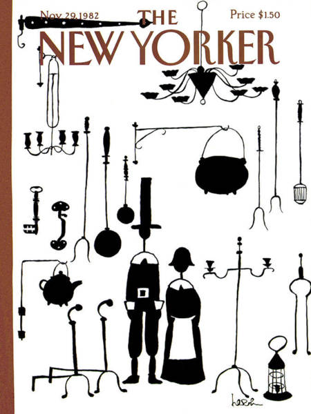 New Yorker November 29th, 1982 Art Print