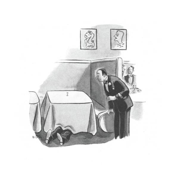 Alcoholism Drawing - New Yorker November 2nd, 1940 by Robert J. Day