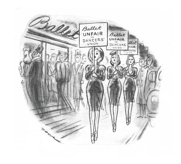 Wall Art - Drawing - New Yorker November 30th, 1940 by Leonard Dove