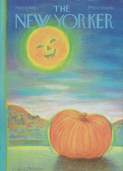 Candy Painting - New Yorker November 3rd, 1975 by Eugene Mihaesco