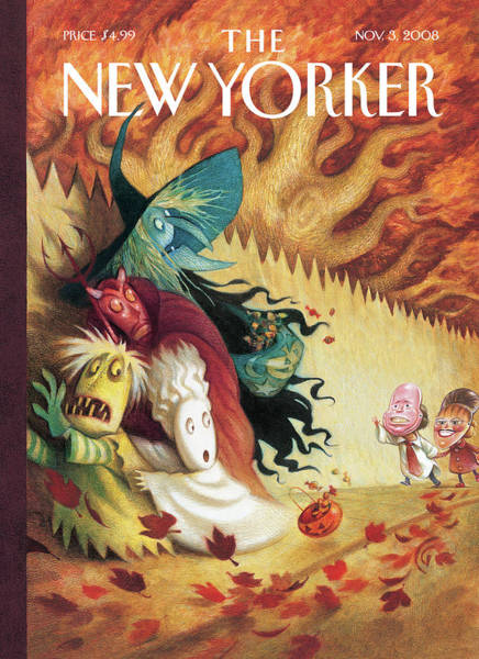 Painting - New Yorker November 3rd, 2008 by Carter Goodrich