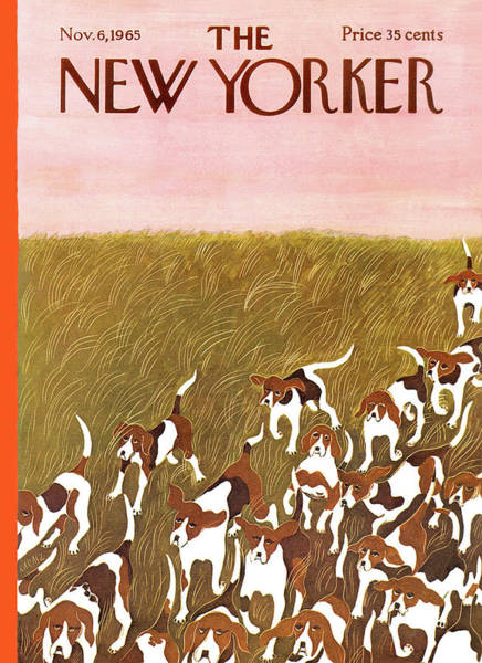 Pet Painting - New Yorker November 6th, 1965 by Ilonka Karasz