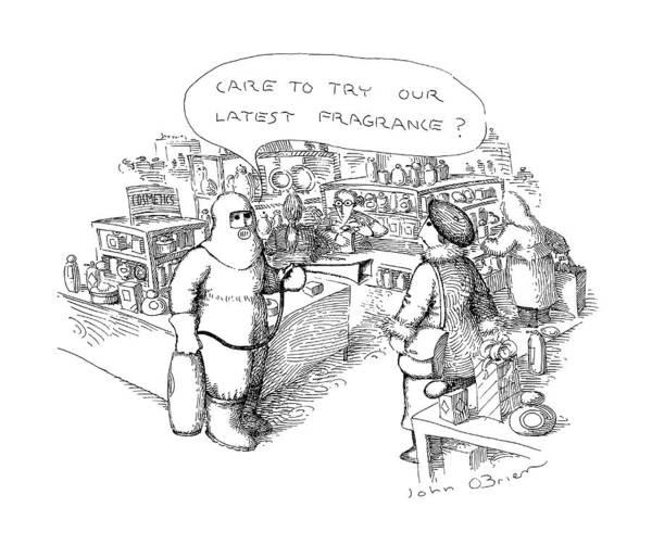 Department Drawing - New Yorker November 7th, 1988 by John O'Brien