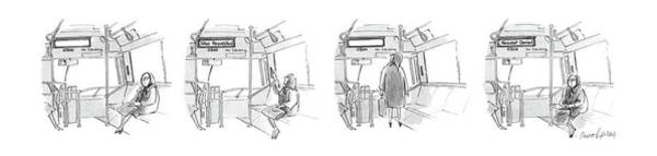 4 Drawing - New Yorker November 7th, 1988 by Mort Gerberg