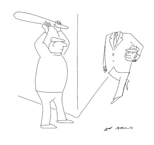 Prepare Drawing - New Yorker October 10th, 1994 by Ed Arno