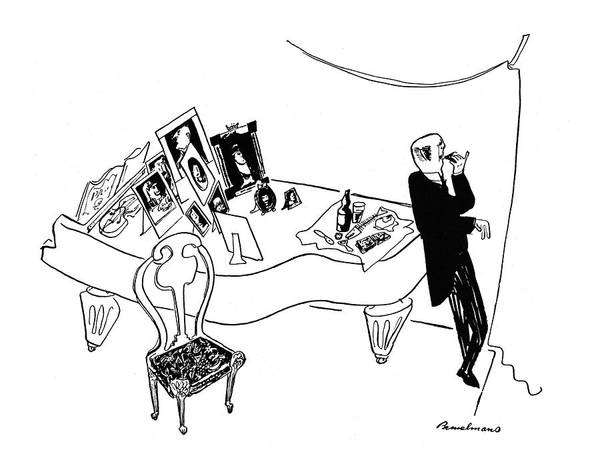 Concerts Drawing - New Yorker October 11th, 1941 by Ludwig Bemelmans