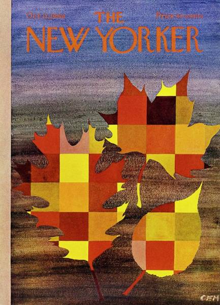 1960s Painting - New Yorker October 11th 1969 by Charles Martin