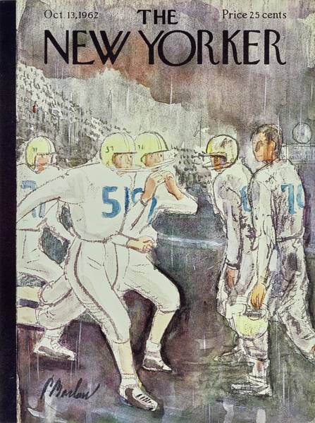 1962 Painting - New Yorker October 13th 1962 by Perry Barlow