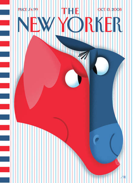 New Yorker October 13th, 2008 Art Print