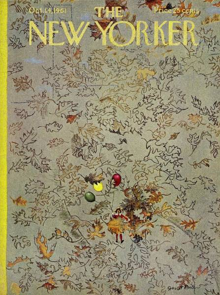 1960s Painting - New Yorker October 14th 1961 by Garrett Price