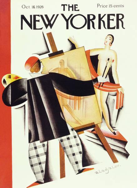 Visual Arts Painting - New Yorker October 16 1926 by Constantin Alajalov