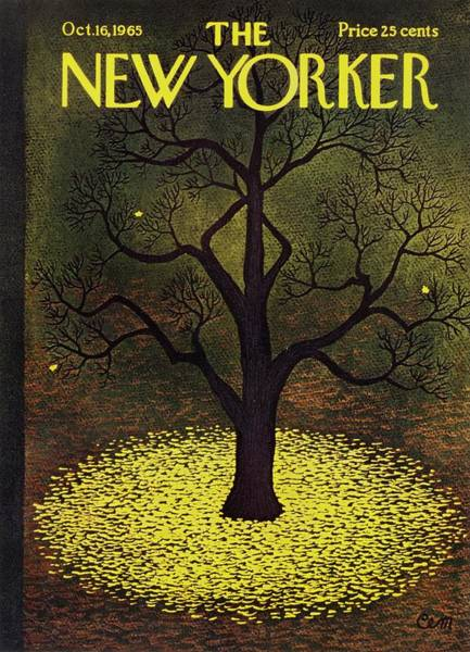 Wall Art - Painting - New Yorker October 16th 1965 by Charles Martin