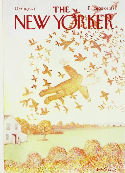 1971 Painting - New Yorker October 16th 1971 by Andre Francois
