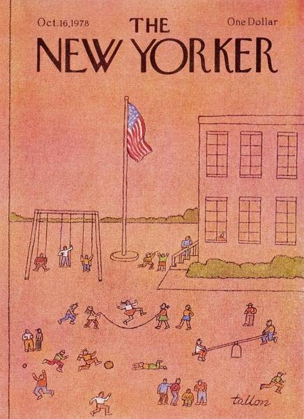 American Culture Painting - New Yorker October 16th 1978 by Robert Tallon