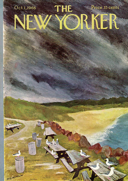Nautical Painting - New Yorker October 1st, 1966 by James Stevenson