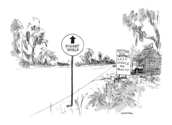 Road Trip Drawing - New Yorker October 23rd, 1971 by James Stevenson