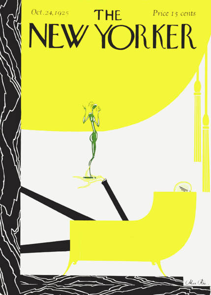 Magazine Cover Painting - New Yorker October 24 1925 by Max Ree