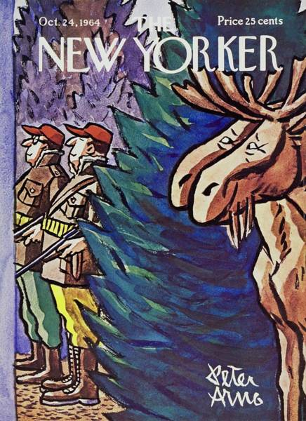 Wall Art - Painting - New Yorker October 24th 1964 by Peter Arno