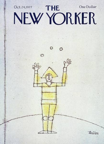Performer Painting - New Yorker October 24th 1977 by Robert Tallon