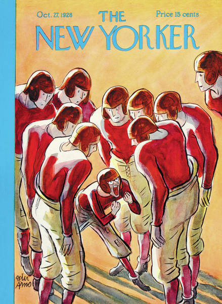 Fall Painting - New Yorker October 27th, 1928 by Peter Arno
