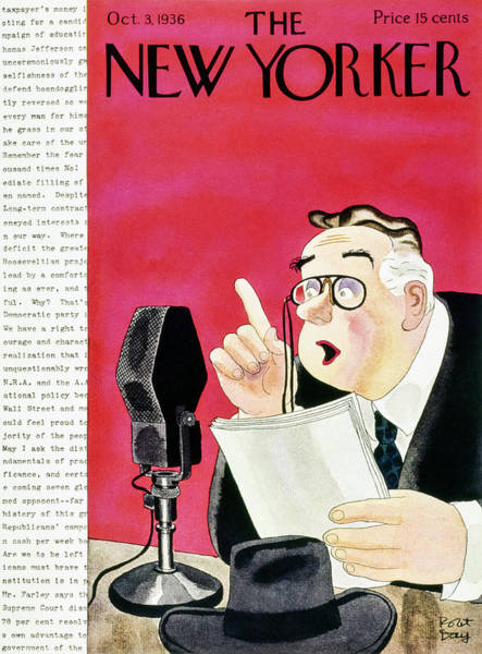 New Yorker October 3 1936 Art Print by Robert Day